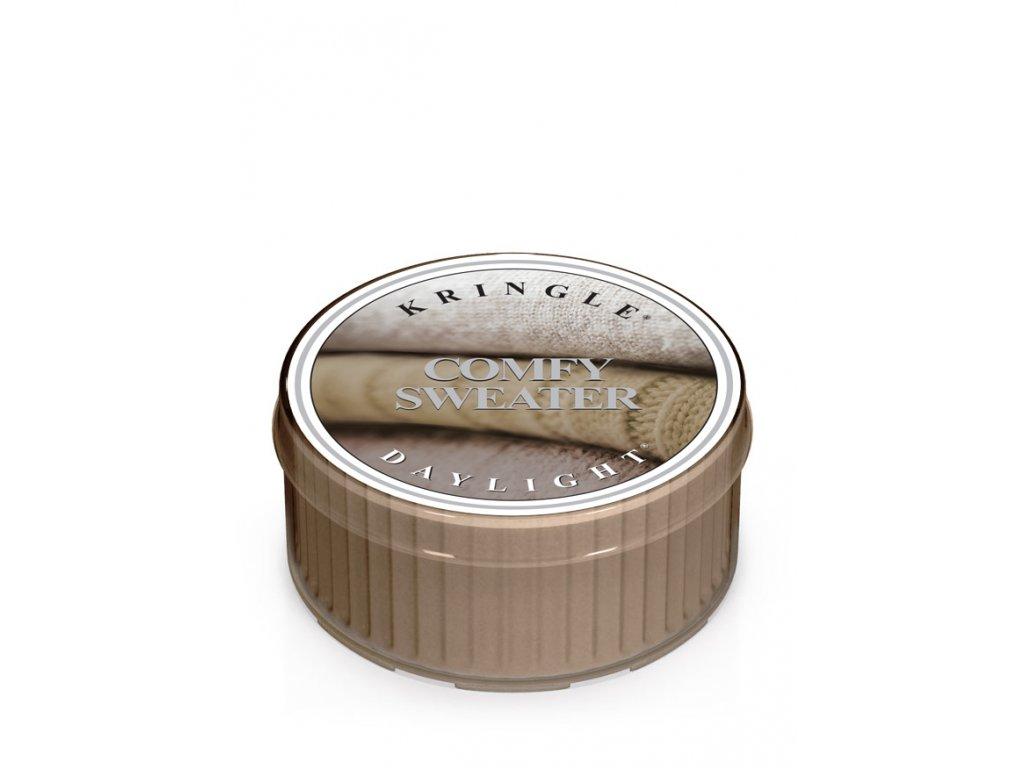 Kringle Candle Vonná Svíčka Comfy Sweater, 35 g