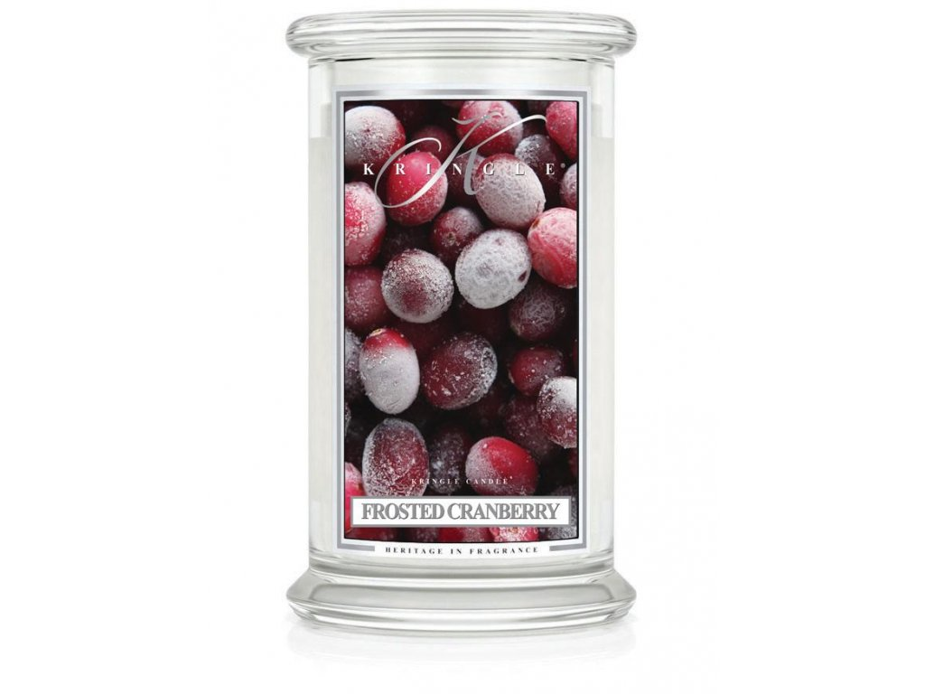 Kringle Candle svíčka Frosted Cranberry, 623 g