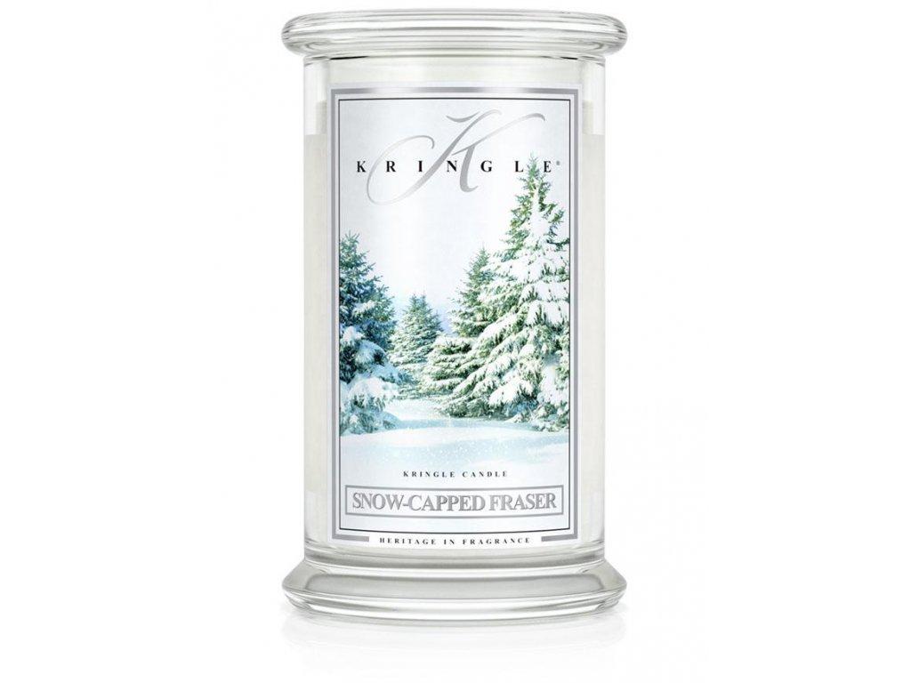 Kringle Candle svíčka Snow Capped Fraser, 623 g