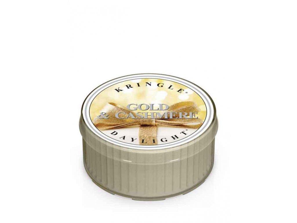 Kringle Candle Vonná Svíčka Gold & Cashmere, 35 g