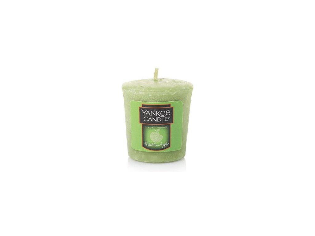 Yankee Candle Vonná Svíčka Votivní Halloween Fobidden Apple, 49 g
