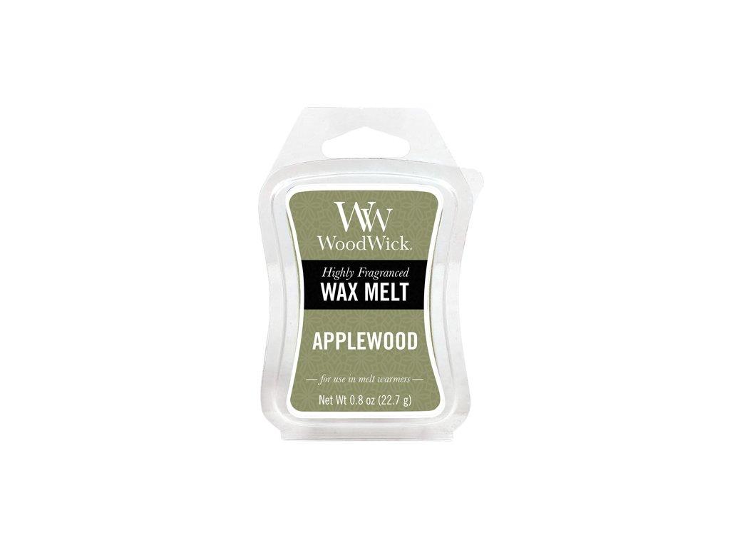 WoodWick Vonný vosk do aromalampy Applewood - Jabloňové dřevo, 22.7 g