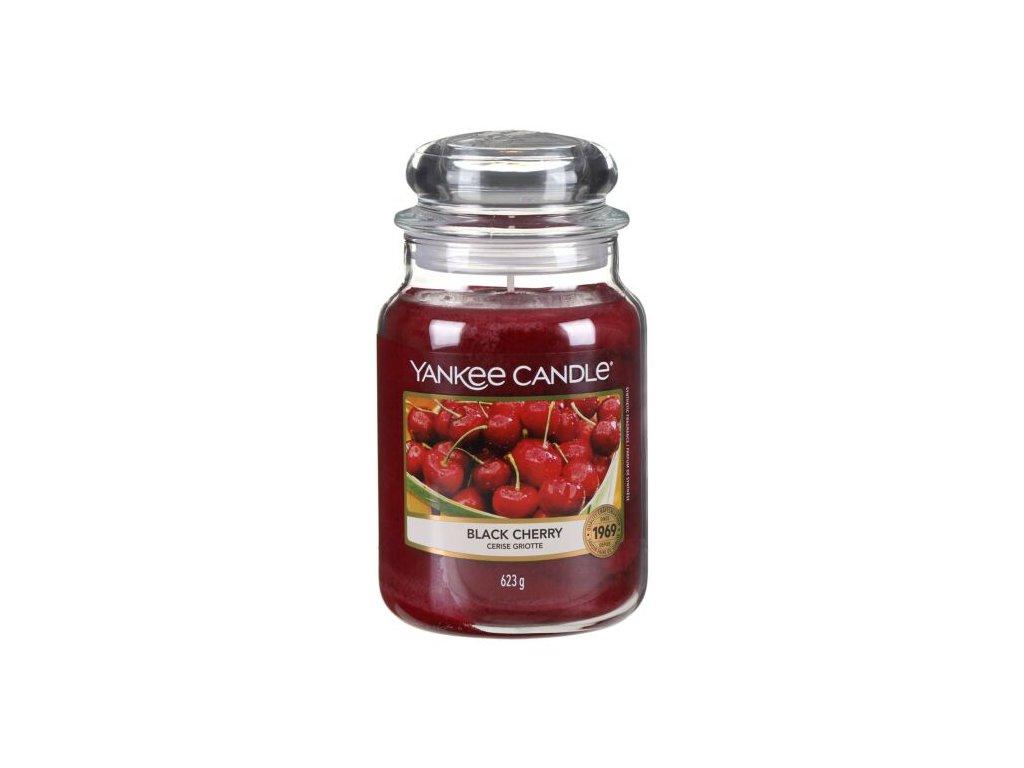 Yankee Candle Vonná Svíčka Black Cherry classic velký, 623 g