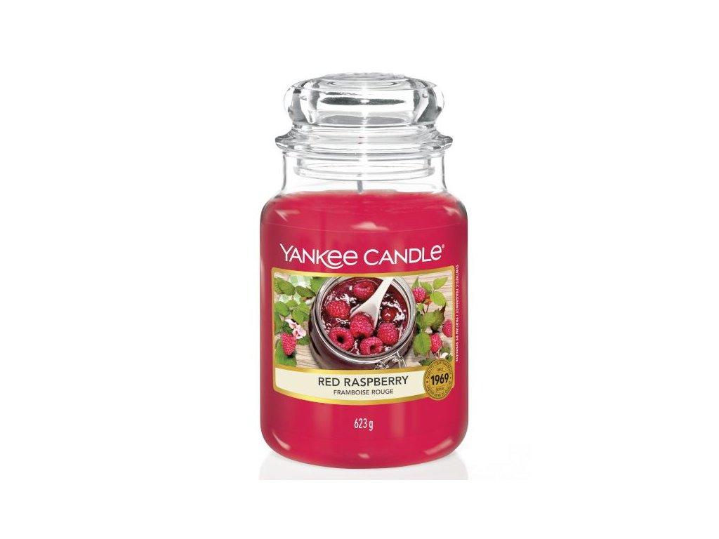 Yankee Candle Vonná Svíčka Red Raspberry classic velký, 623 g