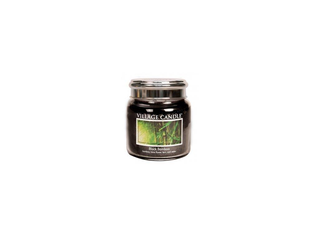 Village Candle Vonná svíčka Bambus - Black Bamboo, 390 g