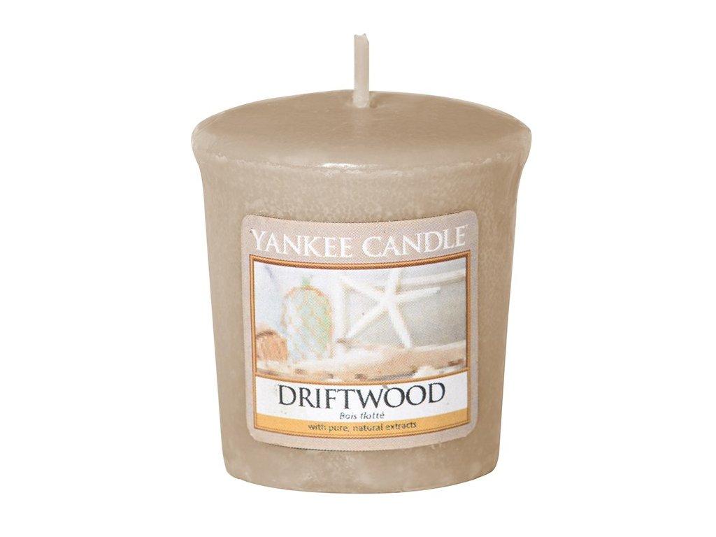 Yankee Candle Vonná Svíčka Votivní Driftwood, 49 g