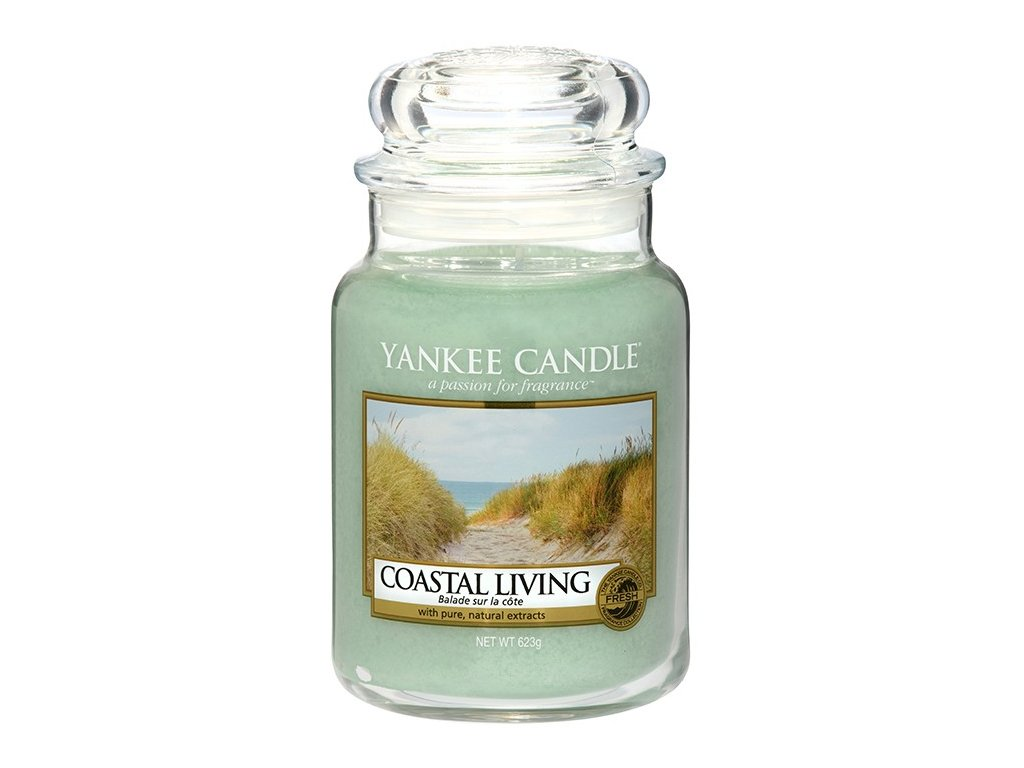 Yankee Candle Vonná Svíčka Coastal Living classic velký, 623 g