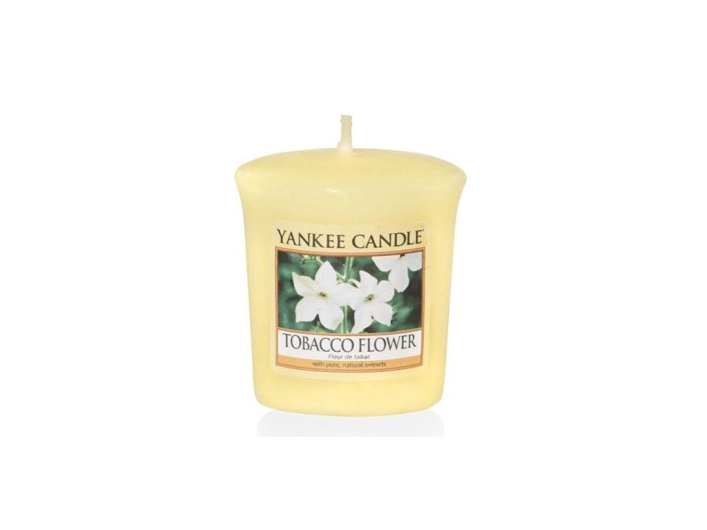 Yankee Candle Vonná Svíčka Votivní Tobacco Flower, 49 g