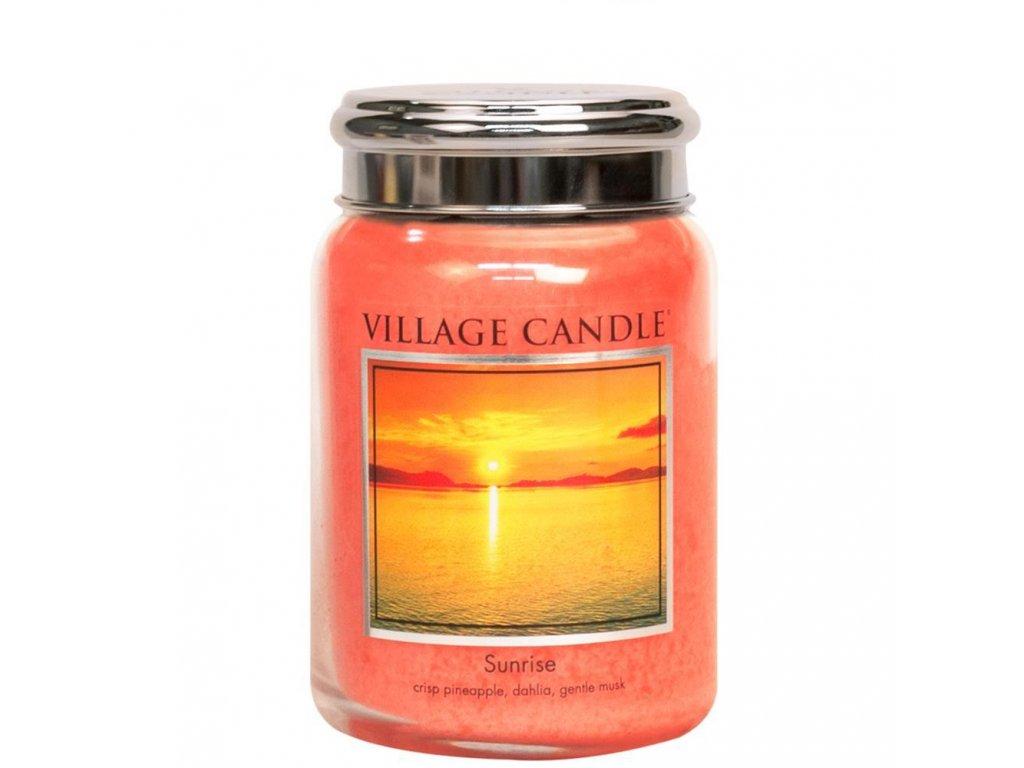 Village Candle Vonná svíčka Východ Slunce - Sunrise, 602 g