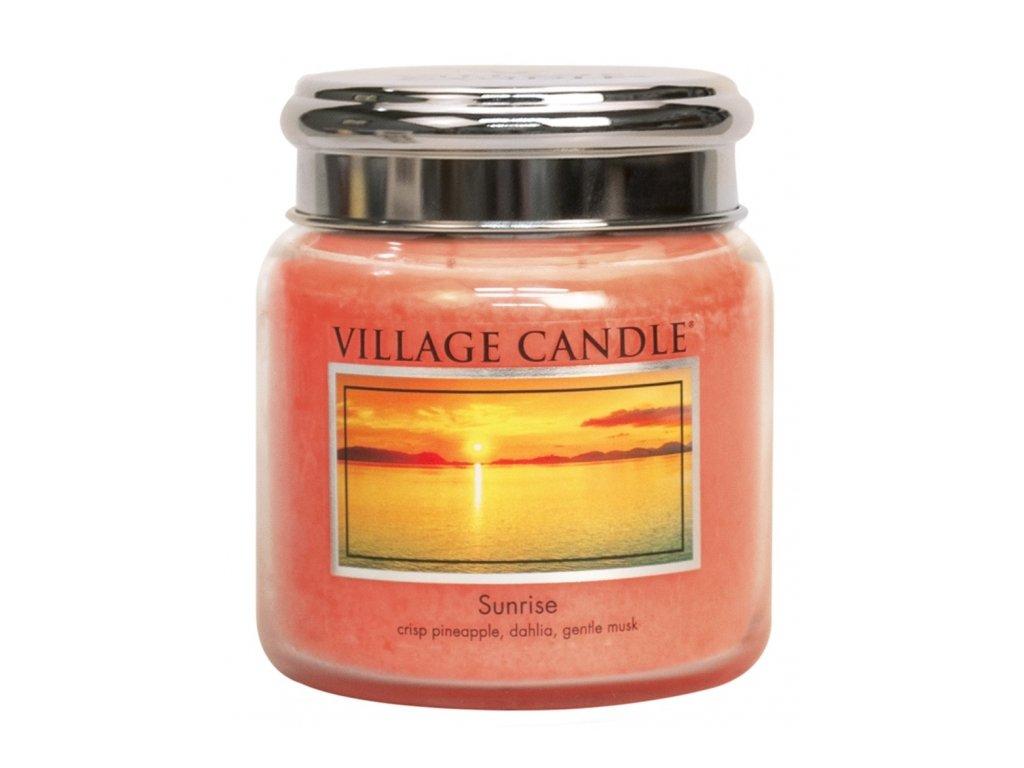 Village Candle Vonná svíčka Východ Slunce - Sunrise, 390 g