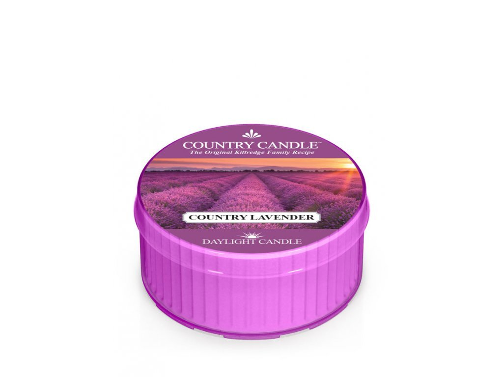 Country Candle Vonná Svíčka Country Lavender, 35 g