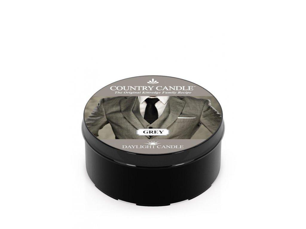 Country Candle Vonná Svíčka Grey, 35 g