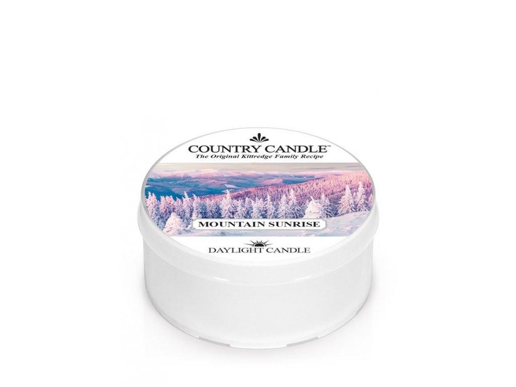 Country Candle Vonná Svíčka Mountain Sunrise, 35 g