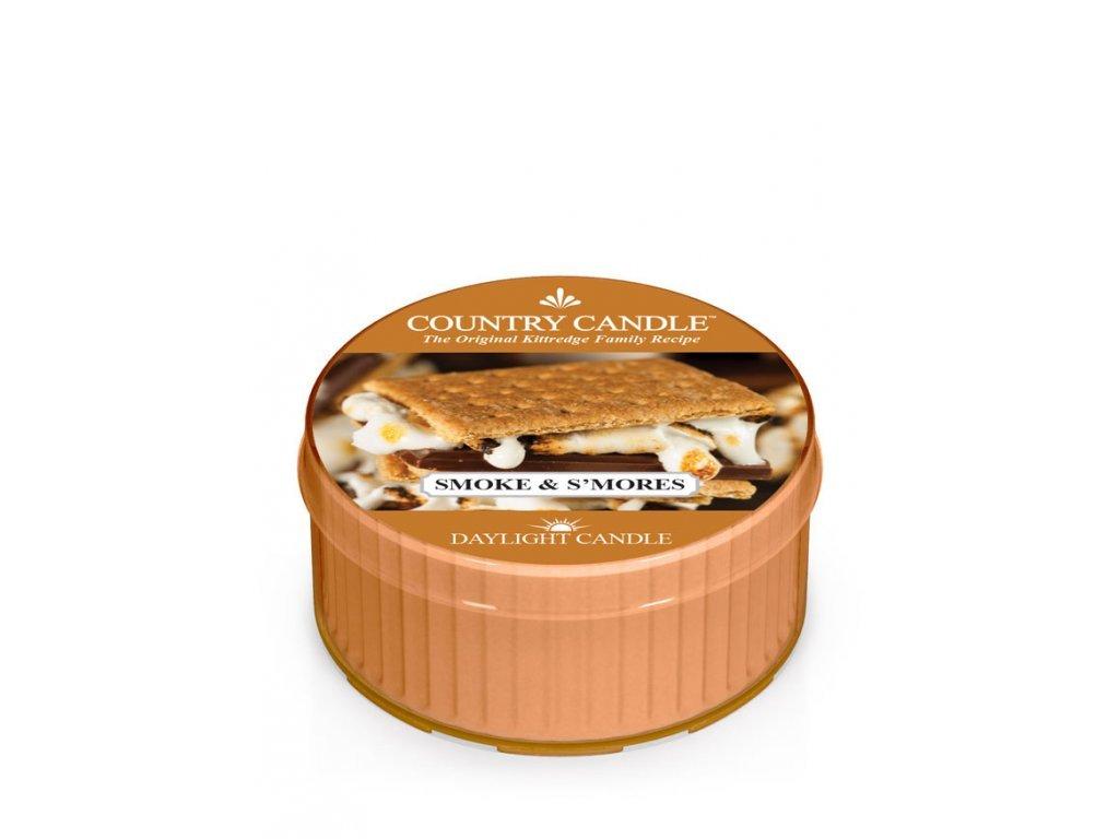 Country Candle Vonná Svíčka Smoke & S'Mores, 35 g