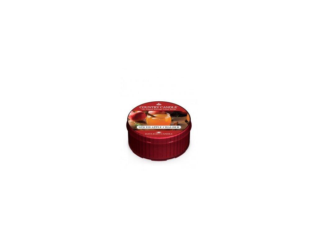 Country Candle Vonná Svíčka Spiced Apple Chai-Der, 35 g