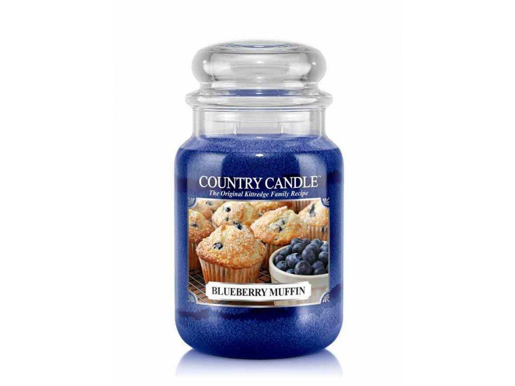 Country Candle Vonná Svíčka Blurberry Muffin, 652 g