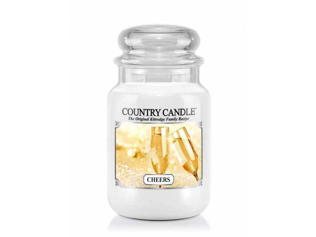 Country Candle Vonná Svíčka Cheers, 652 g