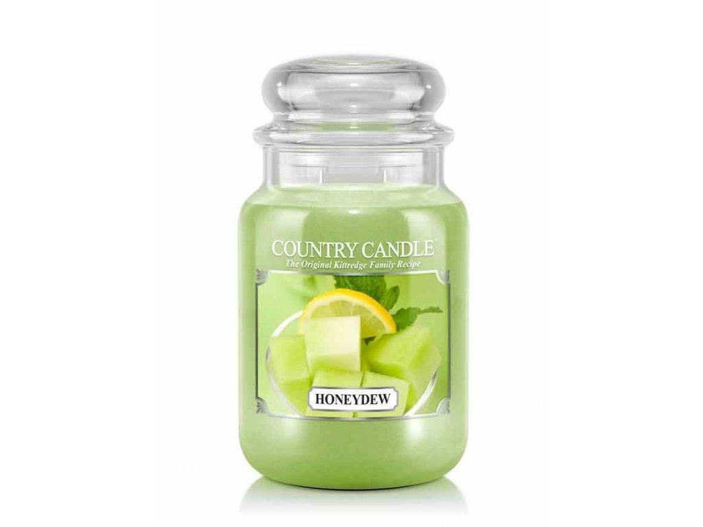 Country Candle Vonná Svíčka Honeydew, 652 g