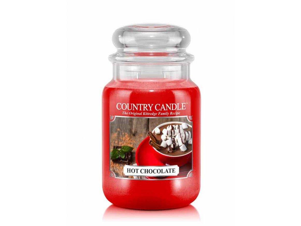 Country Candle Vonná Svíčka Hot Chocolate, 652 g