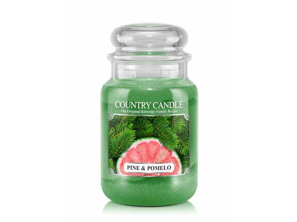 Country Candle Vonná Svíčka Pine & Pomelo, 652 g