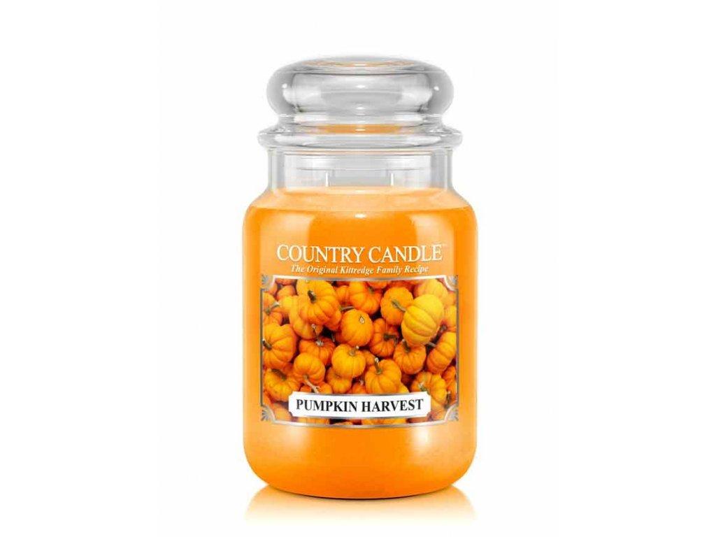 Country Candle Vonná Svíčka Pumpkin Harvest, 652 g