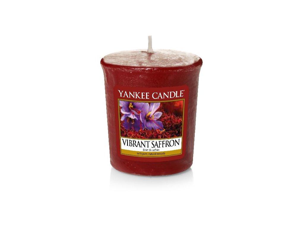 Yankee Candle Vonná Svíčka Votivní Vibrant Saffron, 49 g