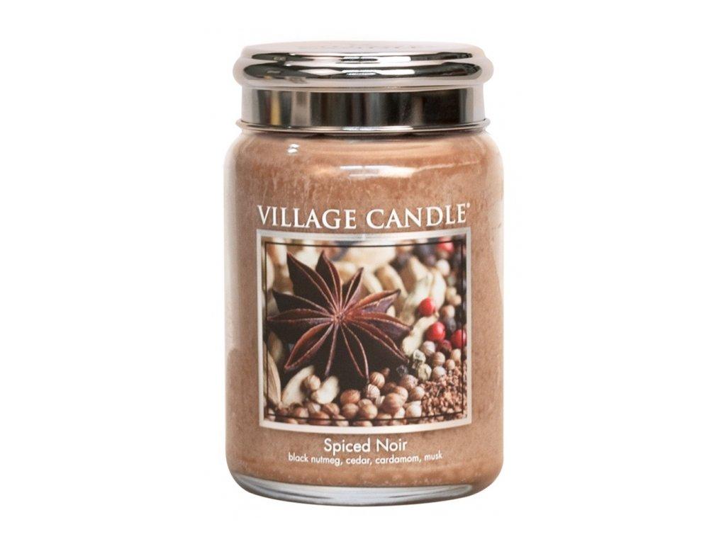 Village Candle Vonná svíčka Koření Života - Spiced Noir, 602 g