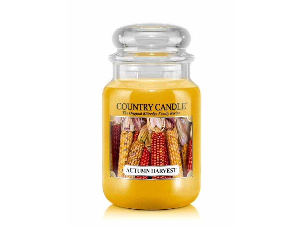 Country Candle Vonná Svíčka Autumn Harvest, 652 g