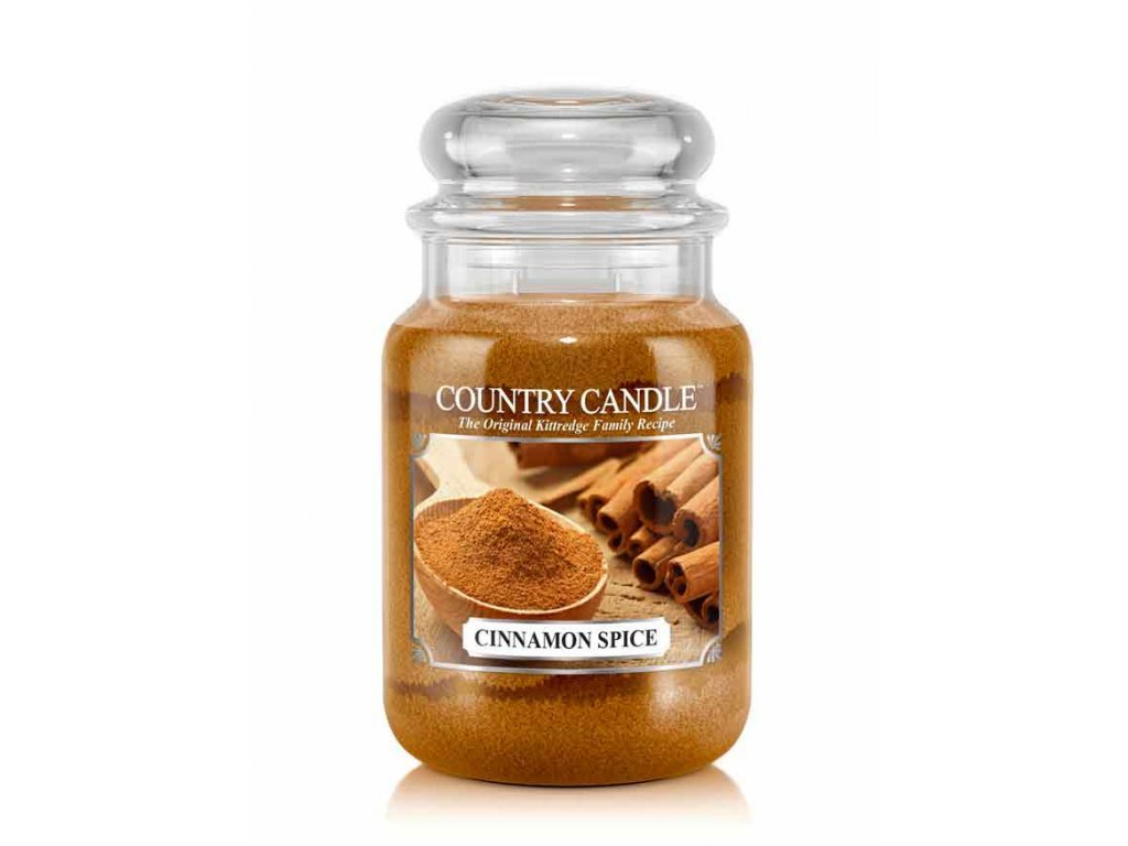 Country Candle Vonná Svíčka Cinnamon Spice, 652 g