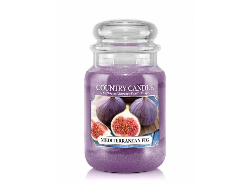 Country Candle Vonná Svíčka Mediterranean Fig, 652 g