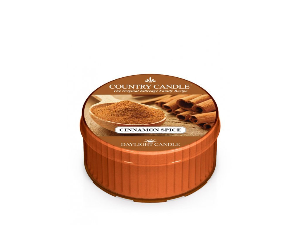 Country Candle Vonná Svíčka Cinnamon Spice, 35 g
