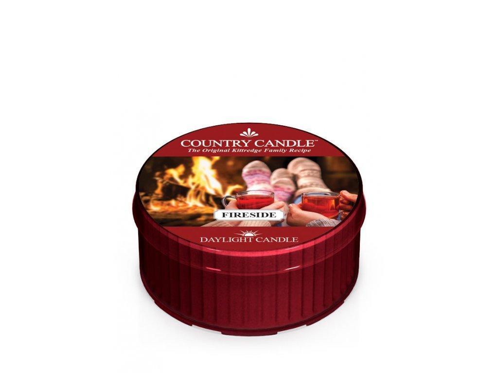 Country Candle Vonná Svíčka Fireside, 35 g
