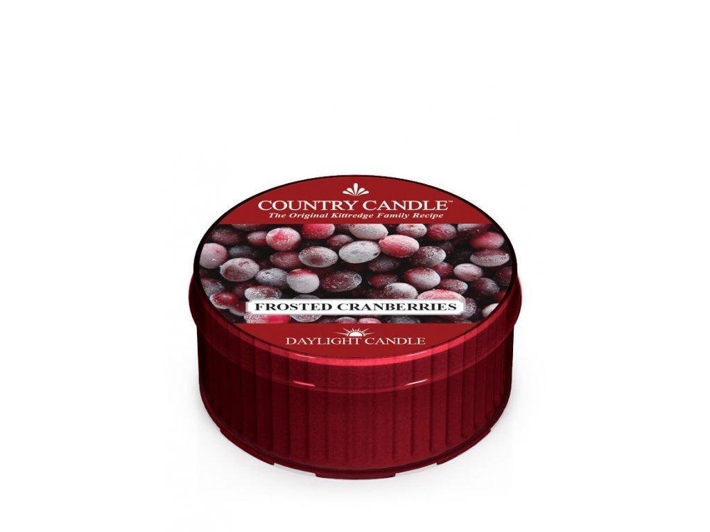 Country Candle Vonná Svíčka Frosted Cranberries, 35 g