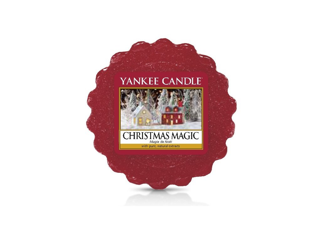 Yankee Candle - Christmas Magic Vosk do aromalampy, 22 g