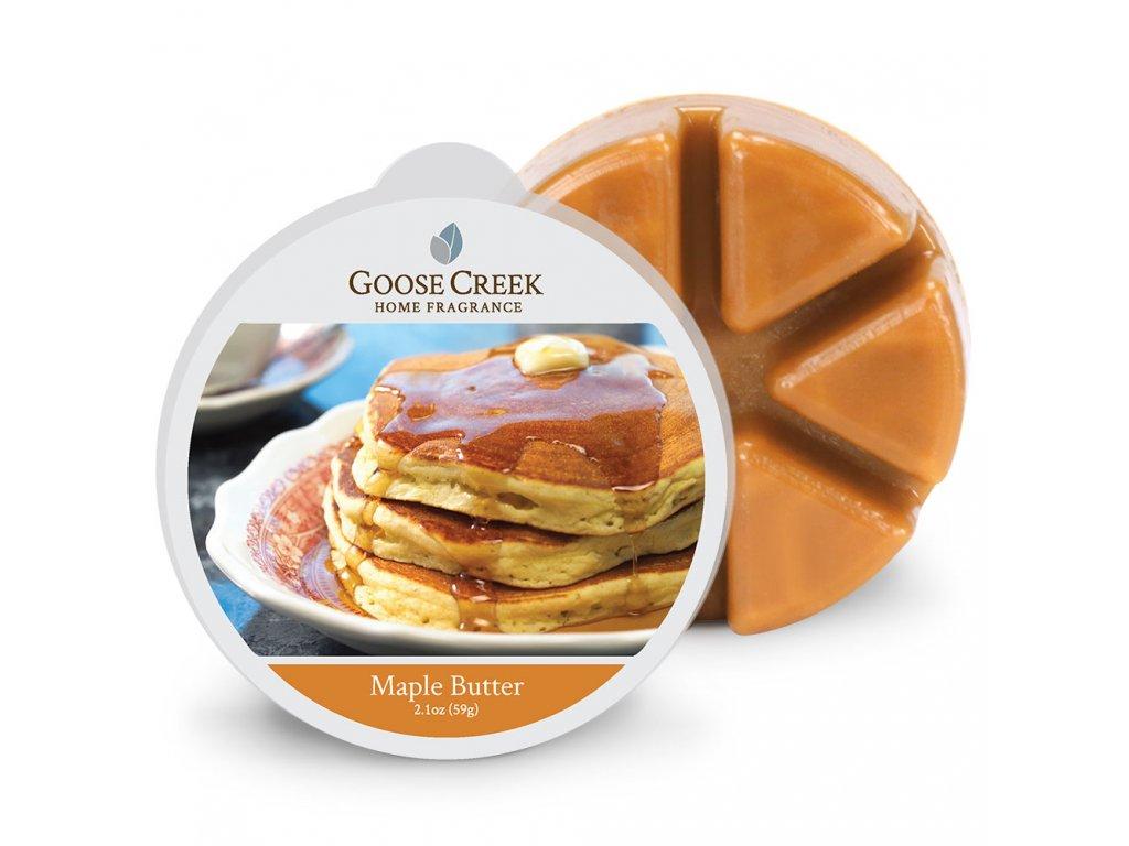 Goose Creek Candle Vonný Vosk Javorové máslo - Maple Butter, 59 g