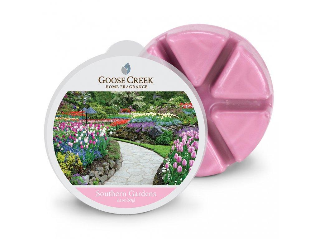 Goose Creek Candle Vonný Vosk Jižní zahrady - Southern Gardens, 59 g