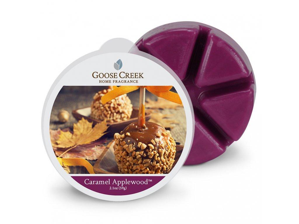 Goose Creek Candle Vonný Vosk Karamelová jabloň - Caramel Applewood™, 59 g