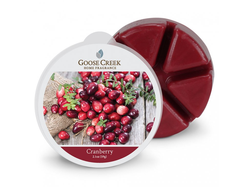Goose Creek Candle Vonný Vosk Brusinka - Cranberry, 59 g