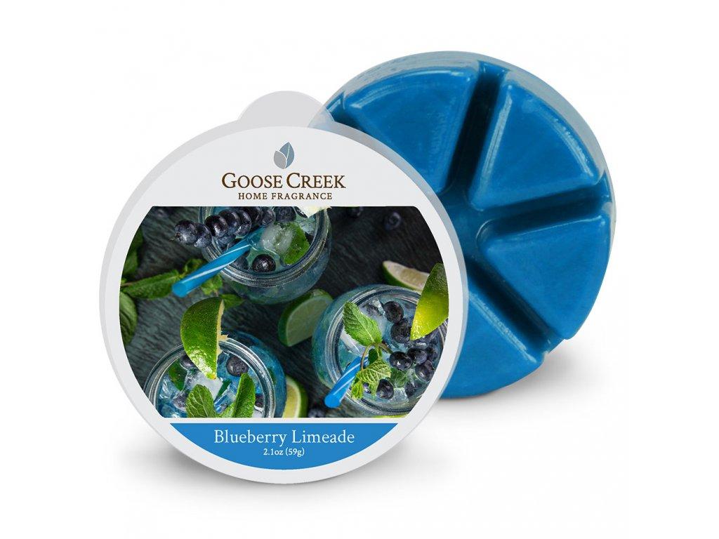 Goose Creek Candle Vonný Vosk Borůvková limonáda - Blueberry Limeade, 59 g