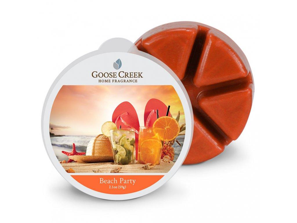 Goose Creek Candle Vonný Vosk Plážová párty - Beach Party, 59 g