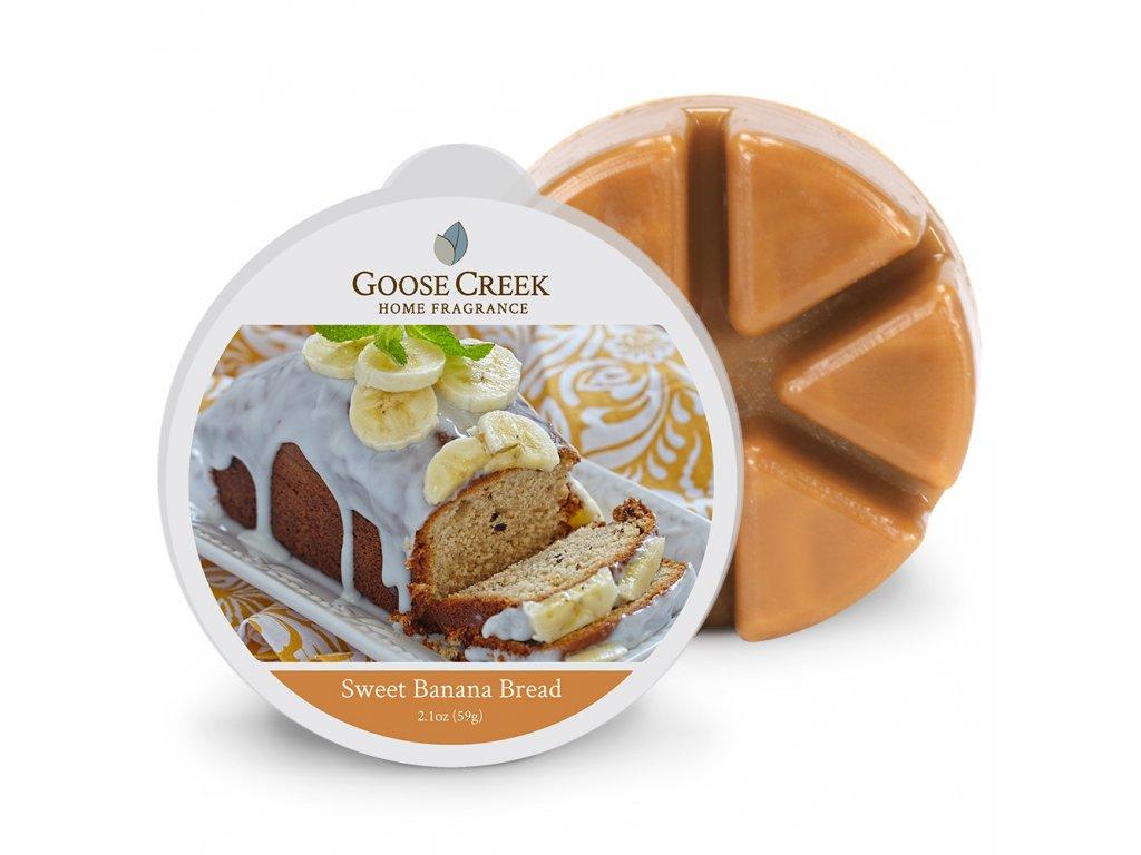Goose Creek Candle Vonný Vosk Sladký banánový chléb - Sweet Banana Bread, 59 g