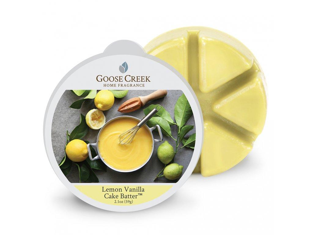 Goose Creek Candle Vonný Vosk Citronovo vanilkové těsto - Lemon Vanilla Cake Batter, 59 g