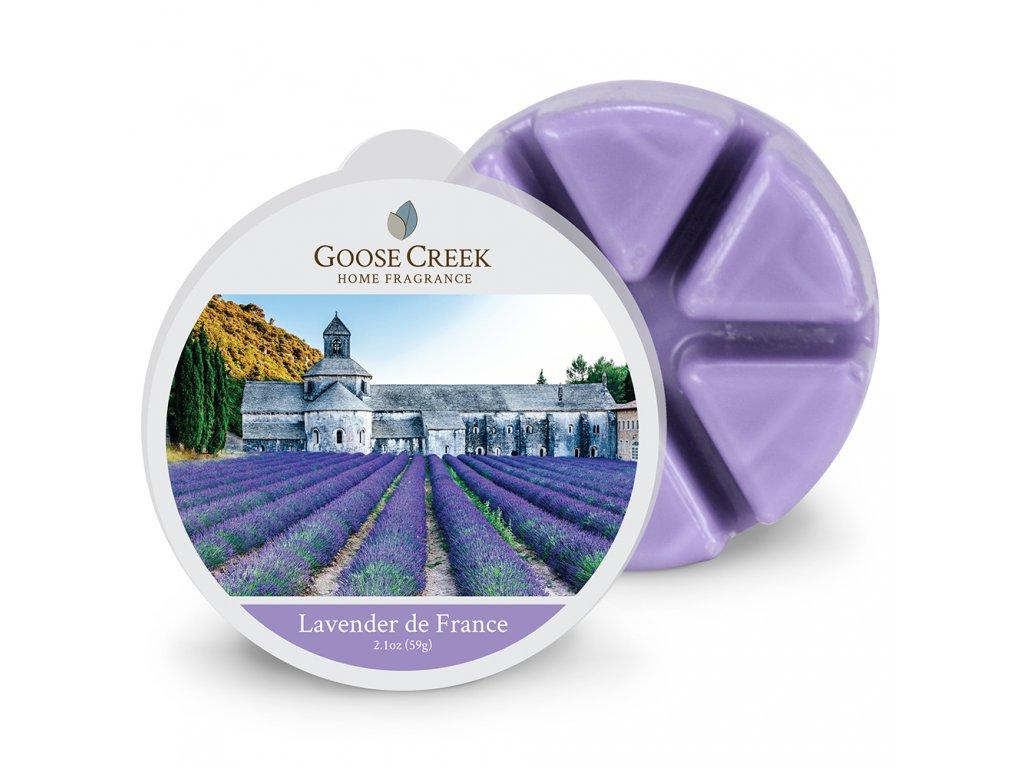 Goose Creek Candle Vonný Vosk Francouzská levandule - Lavender de France, 59 g