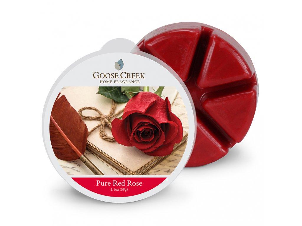 Goose Creek Candle Vonný Vosk Čistá rudá růže - Pure Red Rose, 59 g