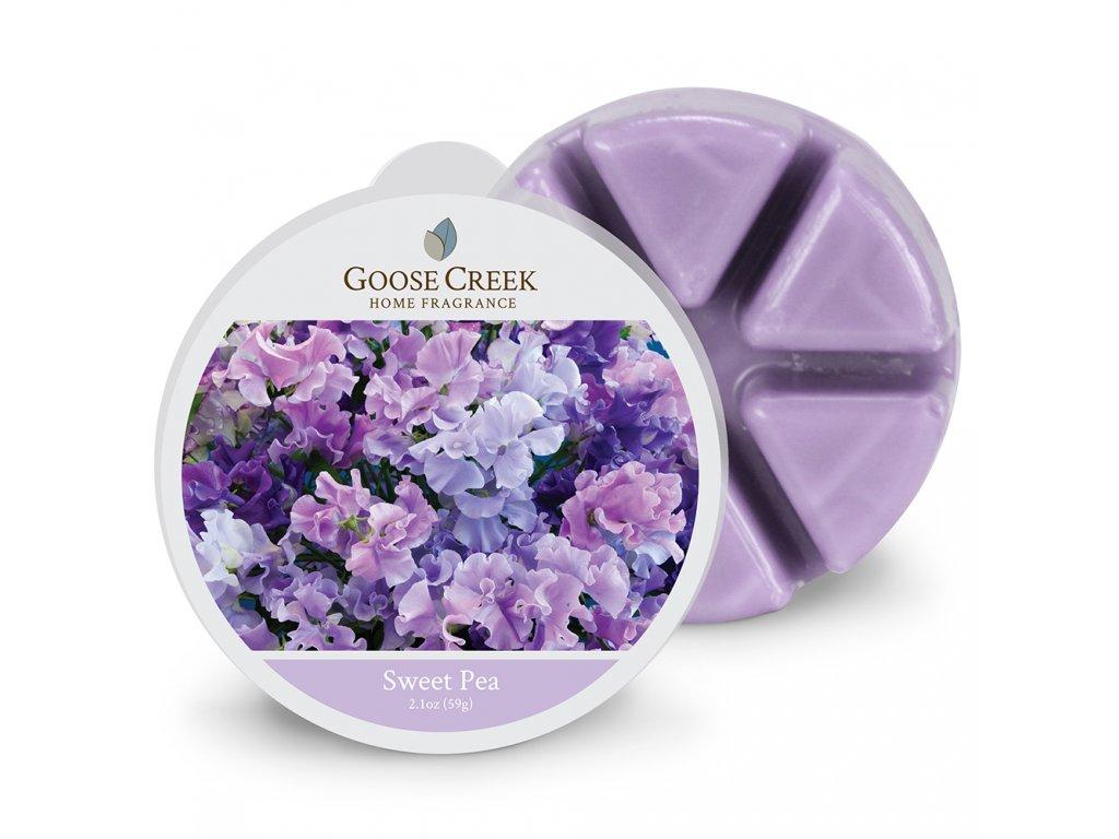 Goose Creek Candle Vonný Vosk Sladký hrášek - Sweet Pea, 59 g