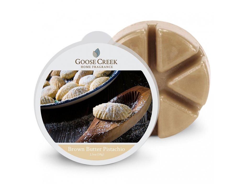 Goose Creek Candle Vonný Vosk Hnědé pistáciové máslo - Brown Butter Pistachio, 59 g