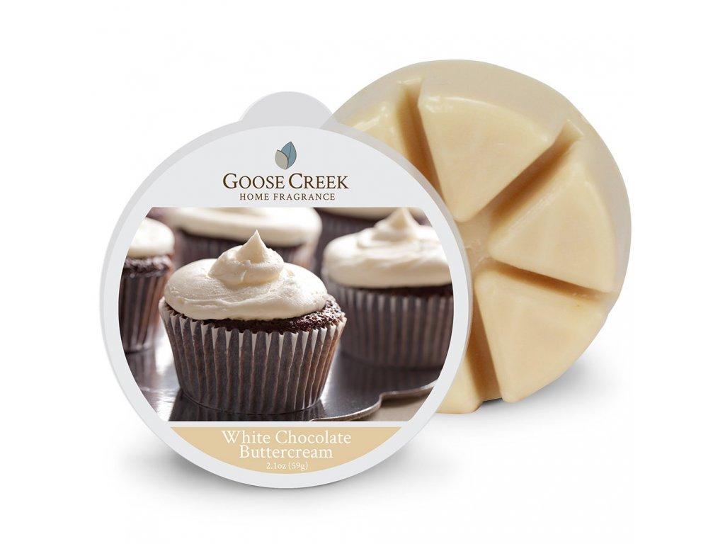 Goose Creek Candle Vonný Vosk Bílá čokoláda - White Chocolate Buttercream, 59 g