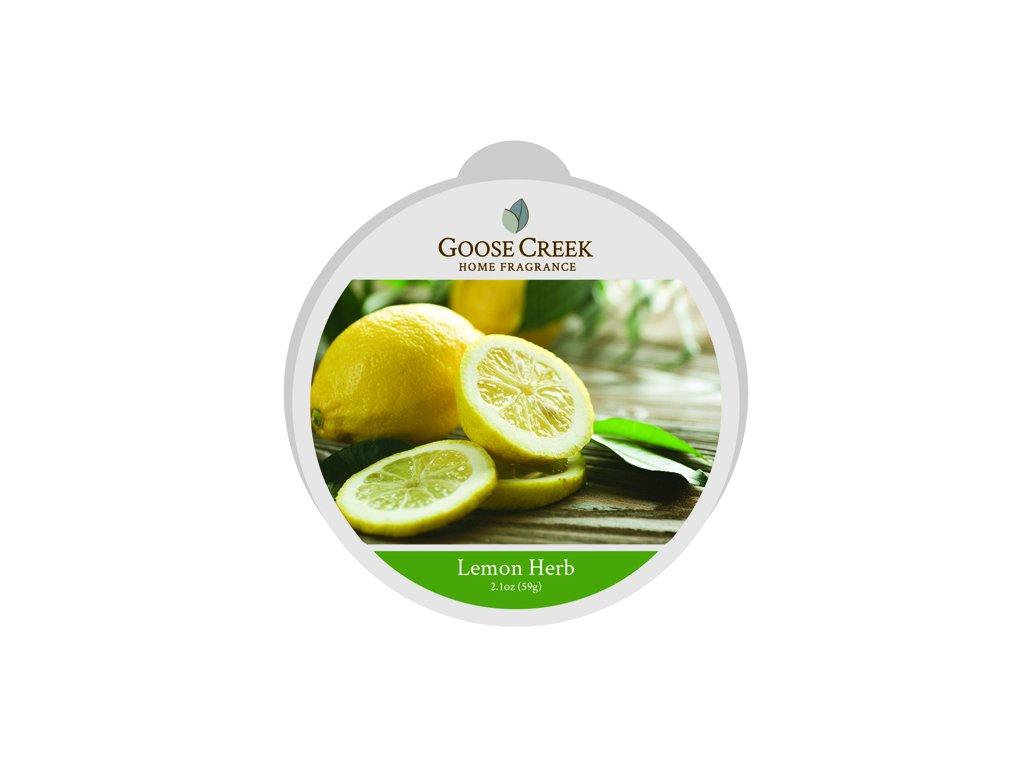 Goose Creek Candle Vonný Vosk Lemon Herb, 59 g