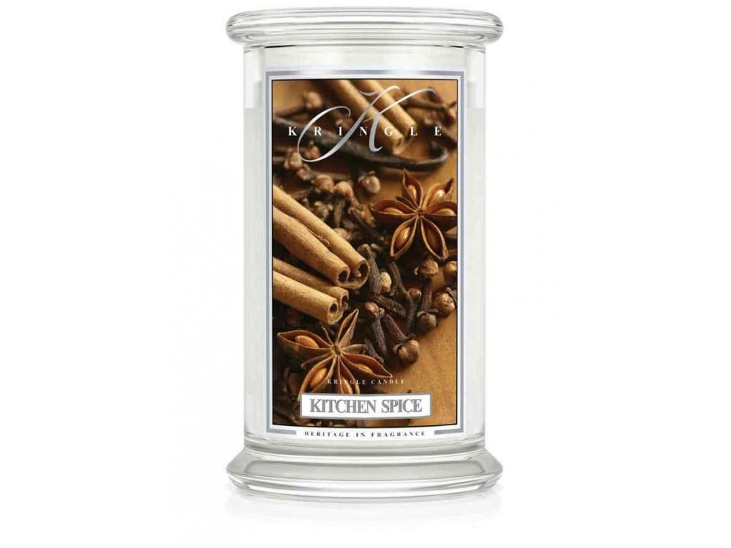 Kringle Candle svíčka Kitchen Spice, 623 g
