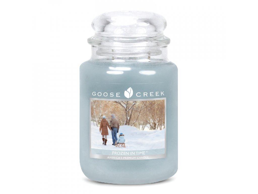 Goose Creek Candle svíčka Zamrzlý v čase - Frozen in Time, 680 g